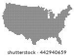usa map vector   Shutterstock .eps vector #442940659
