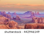 Sunrise In Hunts Mesa Navajo...