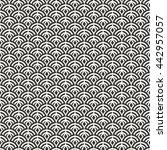 japanese background. seamless... | Shutterstock .eps vector #442957057