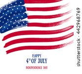 4th july independence day... | Shutterstock .eps vector #442968769