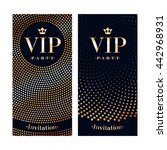 vip club party premium... | Shutterstock .eps vector #442968931