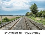 foreign of line 1 | Shutterstock . vector #442989889