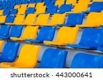 stadium chairs | Shutterstock . vector #443000641