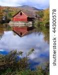 Country Scene Of Rustic Mill O...