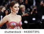 cannes  france   may 13  cheryl ... | Shutterstock . vector #443007391