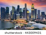Singapore Financial District...