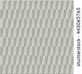 3d trapezoid pattern | Shutterstock .eps vector #443065765