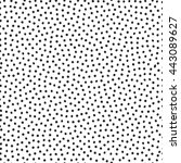 vector seamless stippling dots...   Shutterstock .eps vector #443089627