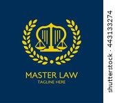 law firm law office  lawyer... | Shutterstock .eps vector #443133274