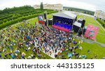 moscow   june 4  people attend... | Shutterstock . vector #443135125