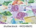 Euro Banknotes  Money Background