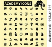 academy icons | Shutterstock .eps vector #443164549