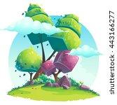 background vector illustration... | Shutterstock .eps vector #443166277