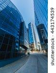 modern skyscrapers in tallinn | Shutterstock . vector #443174539