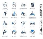 health conditions   diseases  ... | Shutterstock .eps vector #443186731