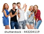 party  holiday  relax and...   Shutterstock . vector #443204119