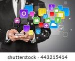 apps. | Shutterstock . vector #443215414