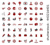 sports icons | Shutterstock .eps vector #443216401