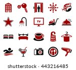 hotel icons | Shutterstock .eps vector #443216485