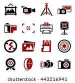 camera and photography icons | Shutterstock .eps vector #443216941