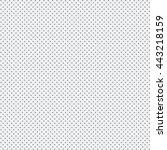 vector seamless pattern. modern ... | Shutterstock .eps vector #443218159
