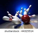 A Fun 3d Render Of A Bowling...