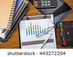 business objects office... | Shutterstock . vector #443272204