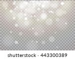 shining light  stars  particles ...   Shutterstock .eps vector #443300389