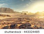 Desert Landscape Wadi Rum Jordan - Fine Art prints