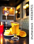 spicy tea | Shutterstock . vector #443365921