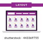 simple flat website templates....