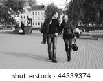 he and she    | Shutterstock . vector #44339374