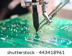 robotic system for automatic... | Shutterstock . vector #443418961