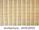 Bamboo Weaving Background