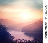 world environment day concept ... | Shutterstock . vector #443560927