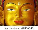 gold buddha face | Shutterstock . vector #44356330