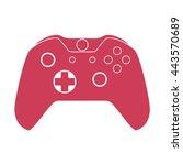 gamepad icon   Shutterstock .eps vector #443570689