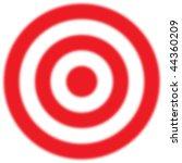 unfocused or blurred target | Shutterstock . vector #44360209