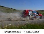 tulcea  romania   june 11 ... | Shutterstock . vector #443602855