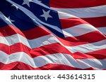 Usa American Flag Stars And...