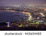 night view of lima city. | Shutterstock . vector #443654485