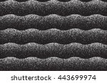 vector dotted texture. abstract ... | Shutterstock .eps vector #443699974