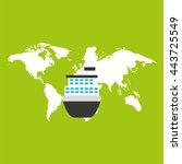 delivery service design    Shutterstock .eps vector #443725549