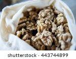 select focus   packed in gauze... | Shutterstock . vector #443744899