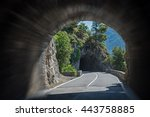 Driving Through A Tunnel At...