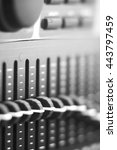 Small photo of black and white photo Multiline equalizer