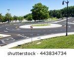 Traffic Roundabout Intersection