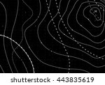 black abstract temperature card.... | Shutterstock . vector #443835619