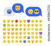 Emoticon Emoji Set. Emoticon...