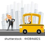 vector illustration of a... | Shutterstock .eps vector #443846821